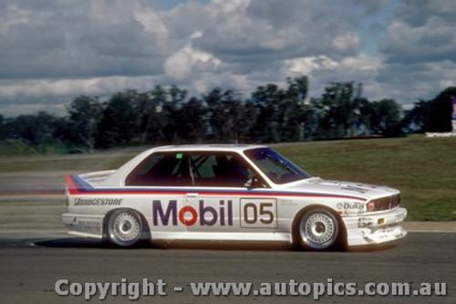 88010 - P. Brock BMW M3 - Oran Park 1988