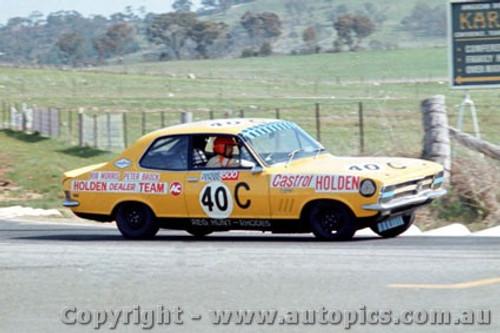 70738  -  Peter Brock  -  Holden Torana LC XU1  Bathurst  1970 - Photographer Bruce Blakey