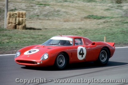 66431 - J. Epstein / P. Hawkins  Ferrari 250 LM - Rothmans 12 Hour Sports Car Race - Surfers Paradise 1966 - Photographer John Stanley
