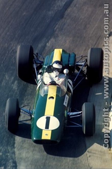 66554 - Jim Clark Lotus - Tasman Series Longford 1966