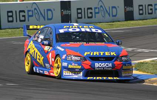204703 - M. Ambrose / G. Ritter - Ford Falcon -  Bathurst 2004 - Photographer Craig Clifford