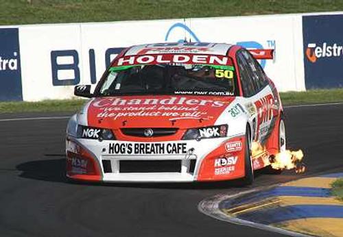 204705 - J. Bright / P. Weel - Holden Commodore -  Bathurst 2004 - Photographer Craig Clifford