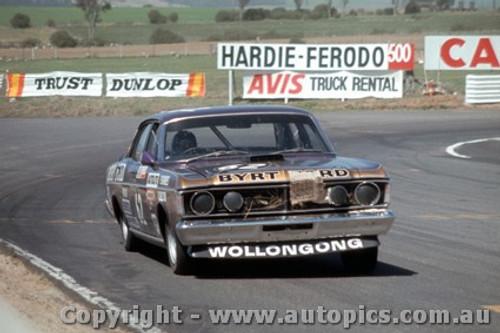 71759  - P. Barnes / R. Skelton  Ford Falcon  XY GTHO Phase 3 -   Bathurst  1971 - Photographer Bruce Blakey