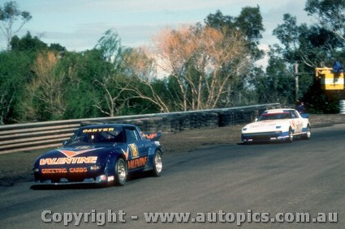 83005 - M. Carter Mazda RX7 - Sandown 1983