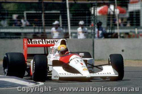 91505 - Ayrton Senna - McLaren Honda - Australian Grand Prix Adelaide 1991