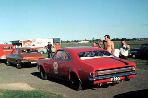 70903 -  Holden Monaro - Surfers Paradise Drags 1970 ?  I think  - Photographer John Stanley