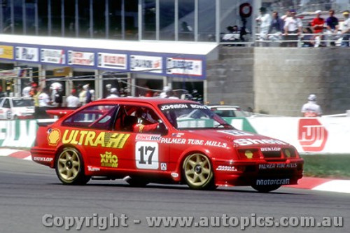 89753  -  D. Johnson / J. Bowe  -  Bathurst 1989 -1st Outright -  Ford Sierra RS500