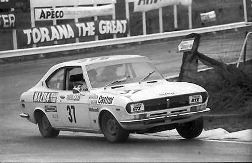 72738 - W. Rogerson  Mazda RX2 - Bathurst 1972