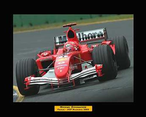 205504 - Michael Schumacher - Ferrari - Australian Grand Prix 2005