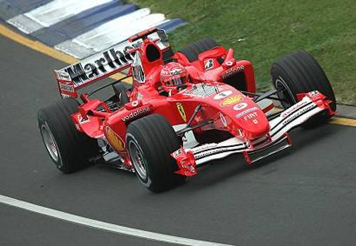 205505 - Michael Schumacher - Ferrari - Australian Grand Prix 2005