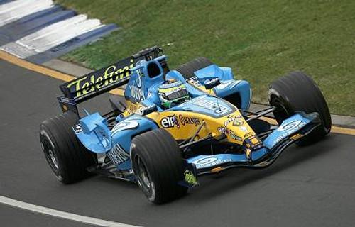 205507 - Giancarlo Fisichella - Renault - Australian Grand Prix 2005