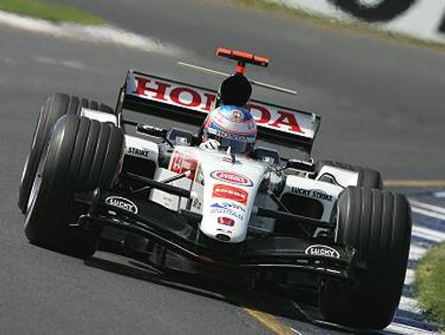 205509 - Jenson Button - B.A.R. Honda - Australian Grand Prix 2005