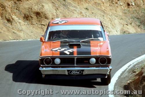 71761  -  Allan Moffat  -  Bathurst 1971 -1st Outright & Class E winner - Ford Falcon XY GTHO - Photographer Bruce Blakey