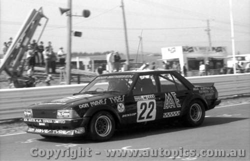 80742 - J. Keogh / R. Mathiesen  Ford Falcon XD - Bathurst 1980