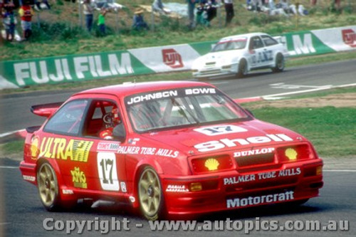 89733  -  D. Johnson / J. Bowe  -  Bathurst 1989 -1st Outright -  Ford Sierra RS500