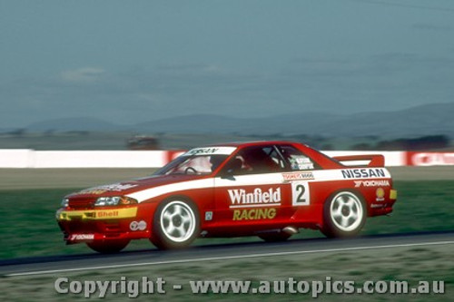 92723  -  A. Olofsson / N. Campton  -  Bathurst 1992 - Nissan GTR 3rd Outright
