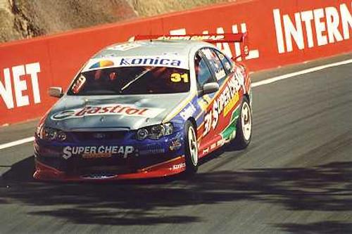 203036 - Steve Ellery / Luke Youlden Holden Commodore VY - Bathurst 2003 - Photographer Craig Clifford