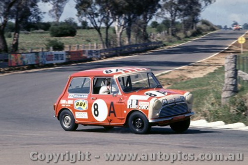 69742 - A. Olsen / S. Bennett Morris Mini K  - Bathurst 1969