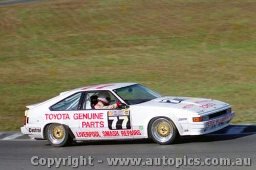 87022  -  P. Williamson Toyota Supra  - Oran Park 5/7/1987