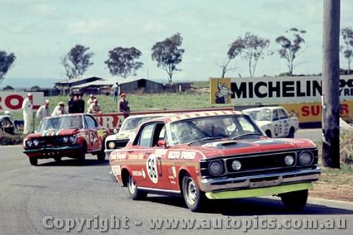 69744 - D. McKay / B. Foley  -  XW  Ford Falcon GTHO - Bathurst 1969 - Photographer Lance J Ruting