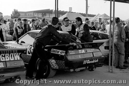 82017  - G. Burgess / L. Brown  - Sandown 1982  - Mazda RX7