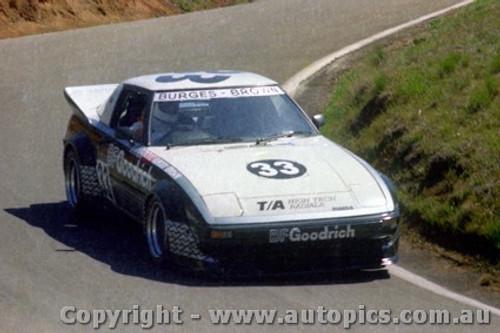 82740  - G. Burgess / L. Brown  -  Bathurst 1982 - Mazda RX7