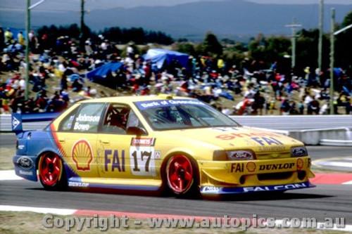 94727  -  D. Johnson / J. Bowe  -  Bathurst 1994 - 1st Outright -Falcon EB