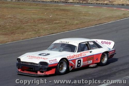 87029  - G. Willmington Jaguar  - Amaroo Park 2nd August 1987