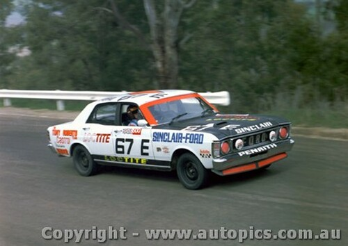 70747 - A. Roberts -  Bathurst 1970 - Ford Falcon   XW GTHO - Photographer Jeff Nield