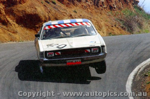 71775  -  L.Geoghgegan / P. Brown Valiant Charger E38   Bathurst  1971 - Photographer Jeff Nield