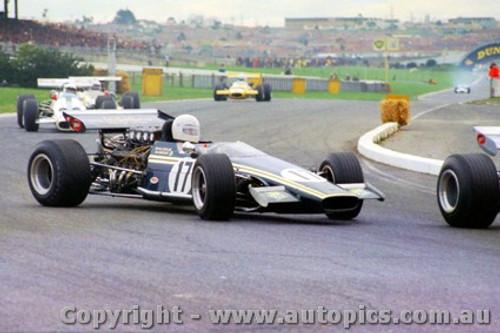 70561 - M. Ramsay Elfin 600C Repco - Sandown 13th September 1970 - Photographer Jeff Nield