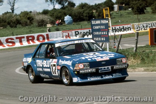 81748  -  Johnson / French  -  Bathurst 1981 - 1st Outright - Ford Falcon XD