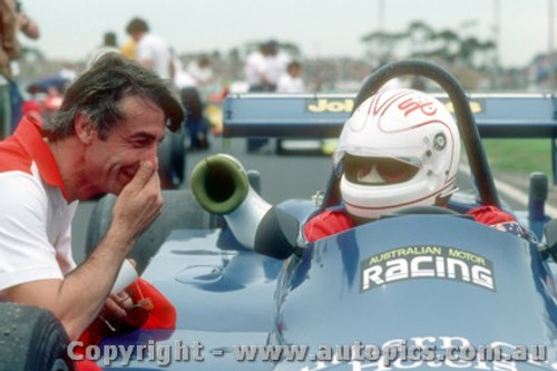 83516 - Alan Jones Ralt RT4  - Australian Grand Prix  Calder 1983