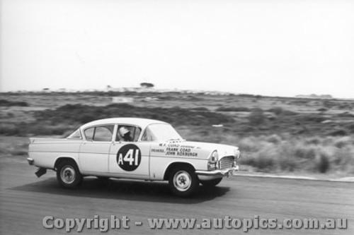 61714 - F. Coad / J. Roxburgh Vauxhall Velox  - Armstrong 500 Phillip Island 1961