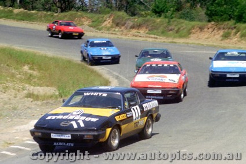 81407 - Ed White / C. Hones / A. Springett / G. Molloy Triumph TR7 Pro Car Series  - Amaroo Park 9th March 1981