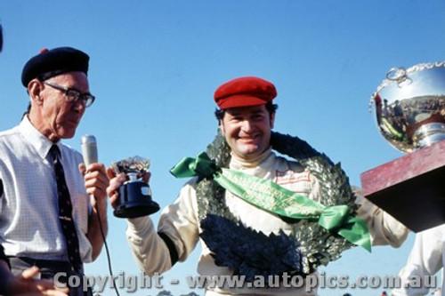 70570 - Leo Geoghegan  Lotus 59B Waggott T/C - Winner of the Sam Horden Trophy - Warwick Farm  6th September 1970