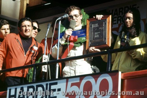 71803  -  Allan Moffat  -  Bathurst 1971 -1st Outright & Class E winner - Ford Falcon XY GTHO