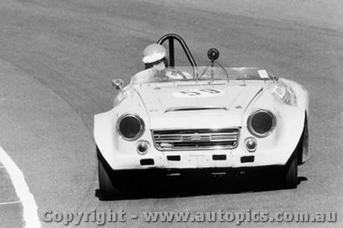73429 - Jeff Morrow Datsun 2000  - Amaroo Park 22nd July 1973