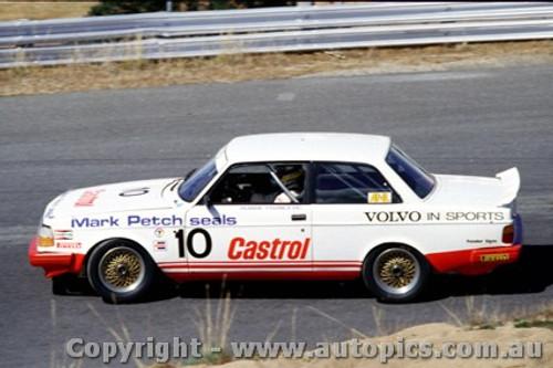 86019 - Robbie Francevic  Volvo 240 Turbo  - Symmons Plains 1986