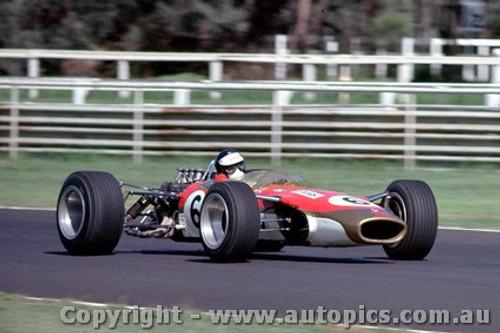 68561 -  Jim Clark - Lotus 49 - Warwick Farm Tasman Series 1968 - Photographer Richard Austin