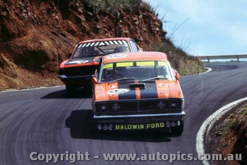 71810  - D. Beck / G. Rush  Ford Falcon  XY GTHO Phase 3 -   Bathurst  1971- Photographer Jeff Nield