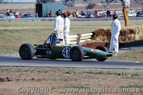 72515 - Peter Lander Wren Formula Ford - Calder 1972 -  - Photographer Peter D Abbs