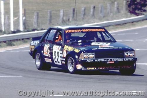 80804  -  J. Keogh / R. Mathiesen  - Ford  Falcon XD -  Bathurst  1980 - Photographer Lance J Ruting