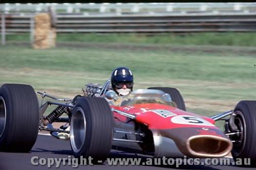 68571 -  Graham Hill - Lotus 49 - Warwick Farm Tasman Series 1968 - Photographer Richard Austin