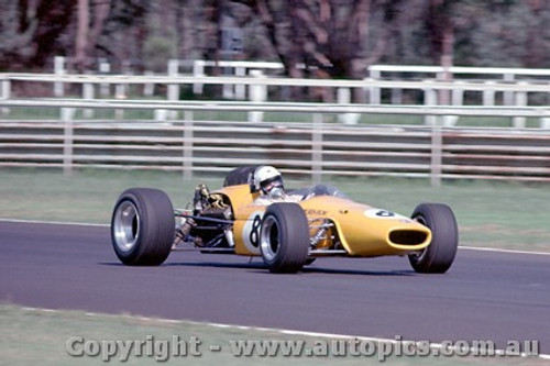 68574 -  Frank Gardner Brabham Alfa V8 - Warwick Farm Tasman Series 1968 - Photographer Richard Austin