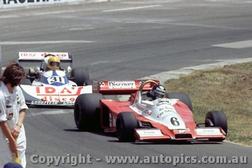 79627 - D. Kennedy Wolf Cosworth WR3 / W. Prejawa - March 76B BDA - Oran Park 25th Feb. 1979 - Photographer Richard Austin