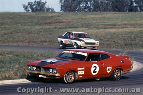 75037 - Allan Moffat - Ford Falcon - Bathurst 1975 - Photographer Lance Ruting