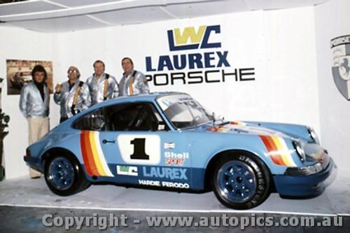 76415 -The Launch of Pete  Ian  Geoghegan s Laurex Porsche - March 1976 -  Photographer Lance  Ruting.