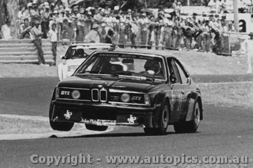 83016  -  Jim Richards -  BMW - Sandown  1983 Photographer Peter D Abbs