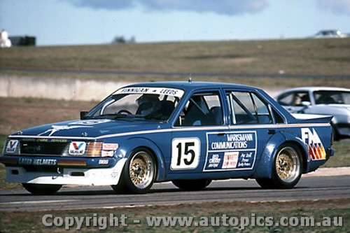 83017 - T. Finnigan / G. Leeds  Holden Commodore VH - Oran Park 1983 Photographer Lance J Ruting